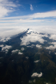 Higher than a volcano, Cotopaxi, Ecuador.